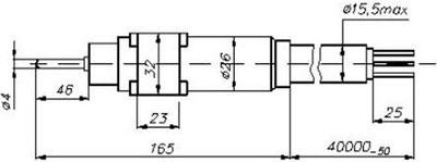 Рис.2. Габаритные размеры ТСП-5089 (исп.2)