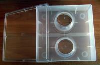Кормушка квадратная с двумя стаканами фото 1