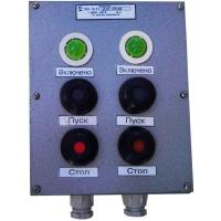 Пост управления кнопочный ПКУ-15-21.231 - фото