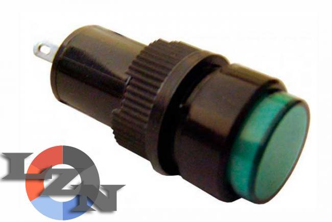 Фото арматуры светосигнальная NXD-212 зеленой