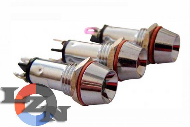 Фото арматуры светосигнальной  AD22C-10 красной