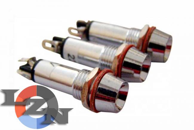 Фото арматуры светосигнальной AD22C-8 красной