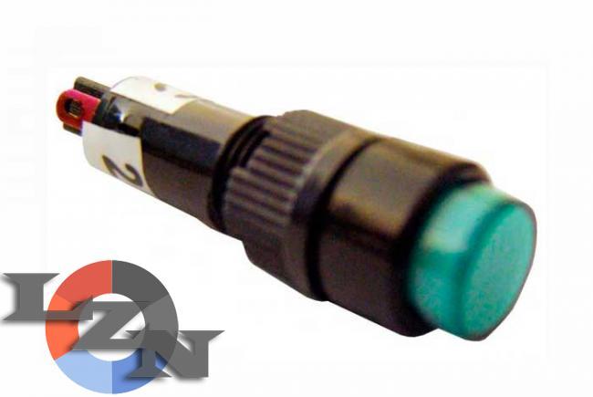 Фото арматуры светосигнальной NXD-215 зеленой