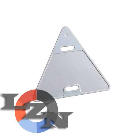Бирка маркировочная треугольная У136 - фото