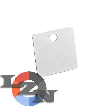 Бирка У153 маркировочная квадратная - фото