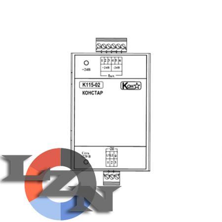 Блок электропитания К115-02 - фото