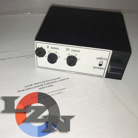 Блок многоканальный максимальной токовой защиты ММТЗ - фото №1