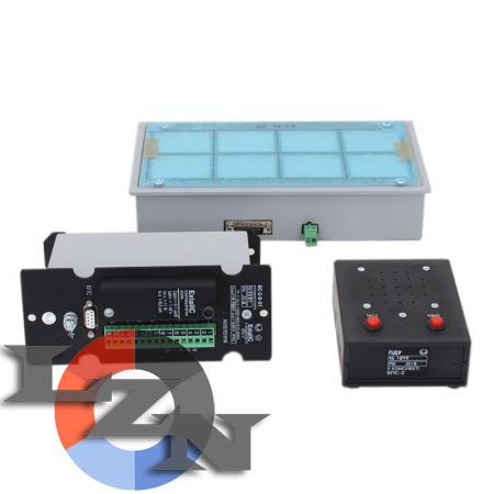 Блок питания оперативной сигнализации БПС-2 в комплекте с устройством оперативной сигнализации БС-2-8 и светодиодным табло ТС-2-8