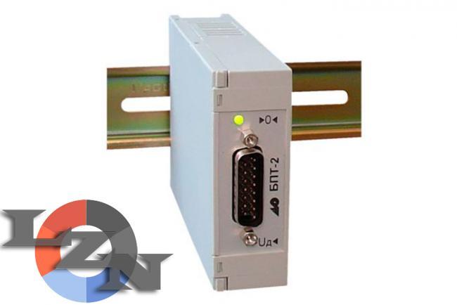 Фото блока преобразования сигналов тензодатчиков БПТ-2