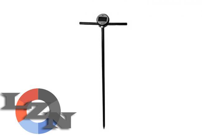 Электронный термометр для почвы - фото