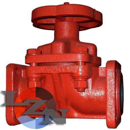 Клапан запорный 15ч76п2м - фото