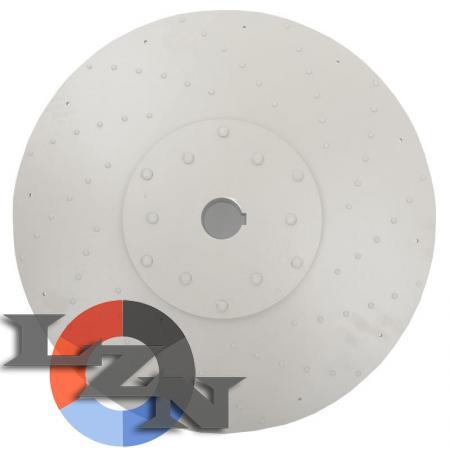 Колесо рабочее РСС 100/25  (левое вращение) - вид спереди