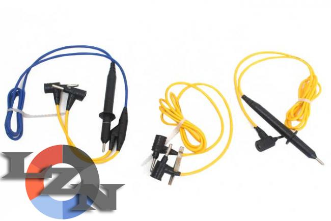 Комплект шнуров для мегаомметра ЭС0202 2г фото №2