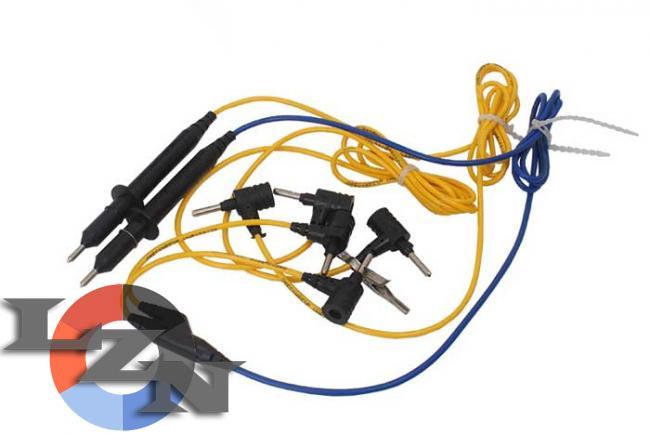 Комплект шнуров для мегаомметр ЭС0202 2г фото №3