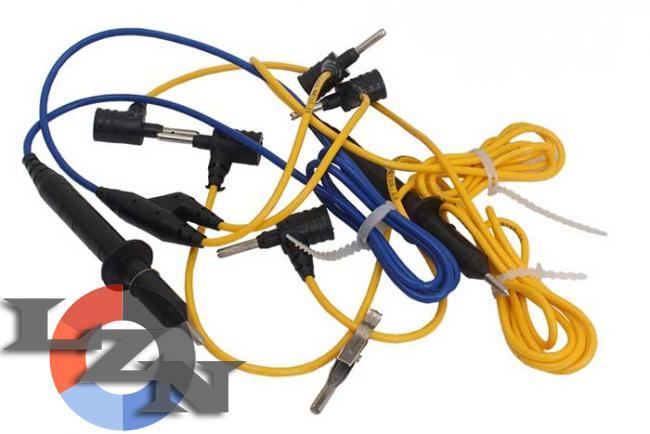 Комплект шнуров для мегаомметр ЭС0202 2г фото №4