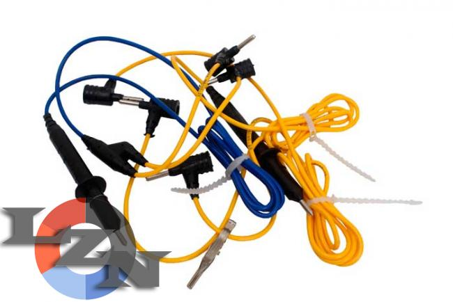 Комплект шнуров для мегаомметра ЭС0202 2г фото №1