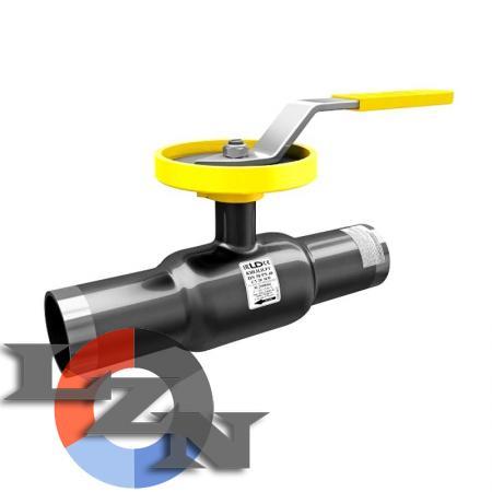 Кран шаровый стальной регулирующий LD фланцевый/под приварку - фото
