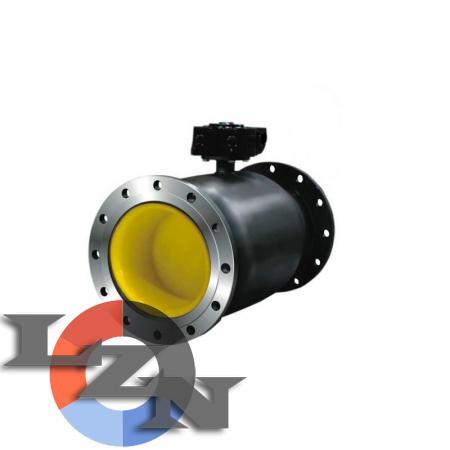Кран шаровый стальной полнопроходной LD под электропривод - фото