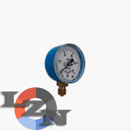 Фото манометра кислородного 25 МПа (250 бар)  50мм