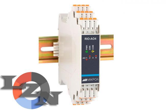 Фото ммодуля аналогового вывода RIO-AO4