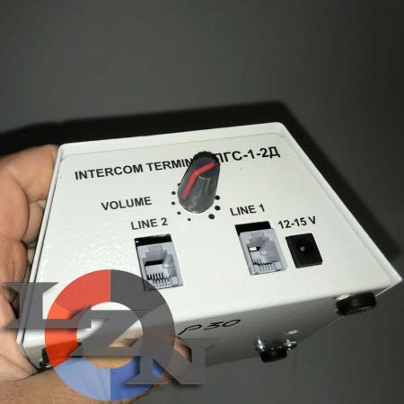 Пульт громкоговорящей связи ПГС-1-2д - фото №2