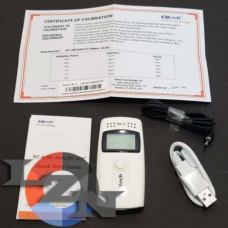 Регистратор температуры RC-4 с сертификатом - фото №3