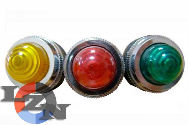 Фото сигнальной арматуры PL-25N желтой