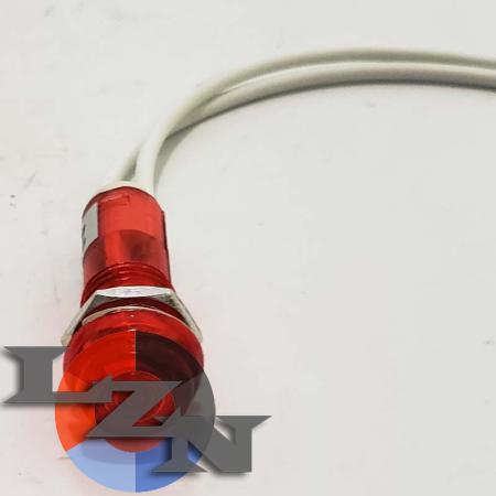 Сигнальная арматура PL1-101 красная - фото №3