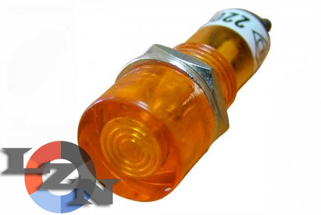 Фото сигнальной арматуры PL1-101 желтой