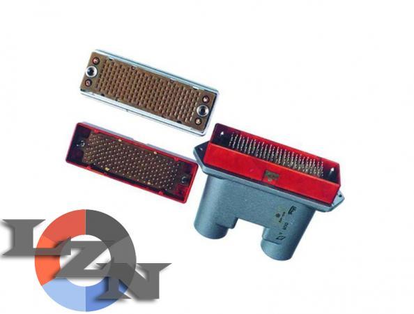 Соединители электрические низкочастотные 6Р прямоугольные - фото