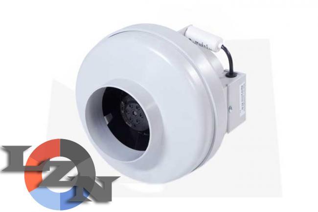 Вентилятор канальный в пластиковом корпусе - фото